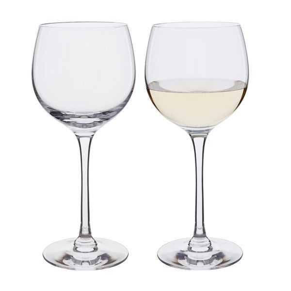 Dartington Crystal Chateauneuf Large Wine Glass Pair 0.29L