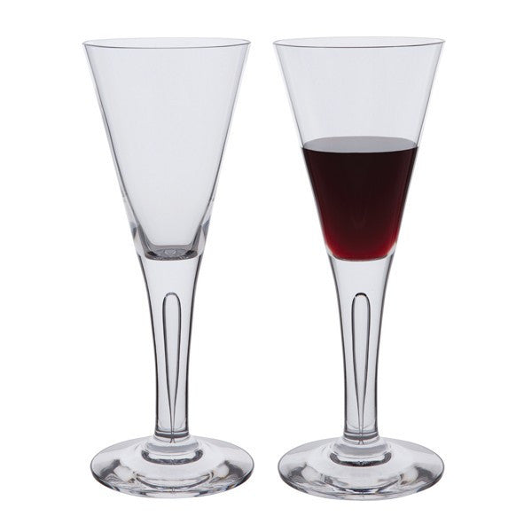 Dartington Crystal Sharon Claret Glass 0.14L (Pair)