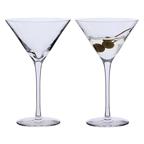 Dartington Crystal Bar Excellence Martini Glass 0.21L (Pair)