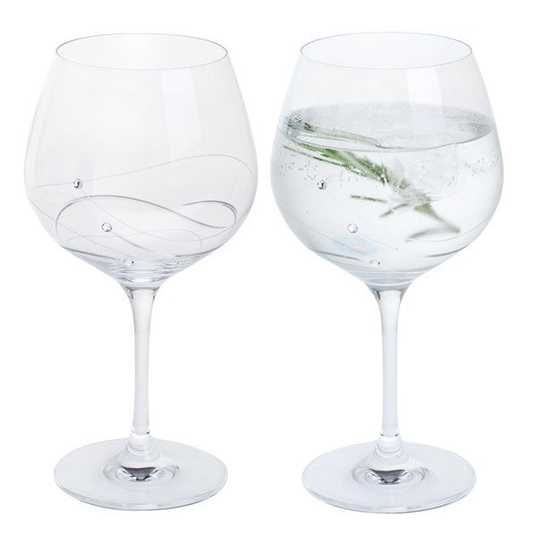 Dartington Crystal Glitz Copa Gin and Tonic Glass 0.61L (Pair)