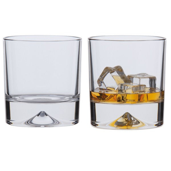 Dartington Crystal Dimple Double Old Fashioned 0.37L (Pair)