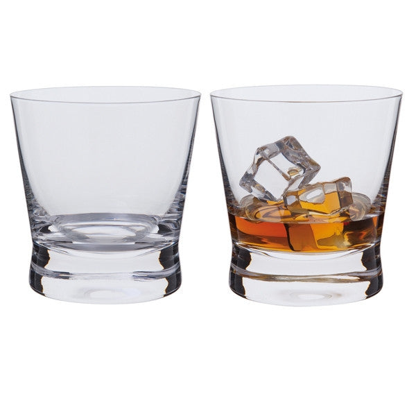 Dartington Crystal Bar Excellence Whiskey Rocks Glass 0.32L (Pair)
