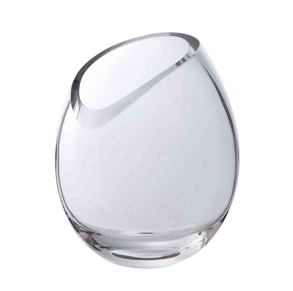 Dartington Crystal Curve Round Vase 21cm