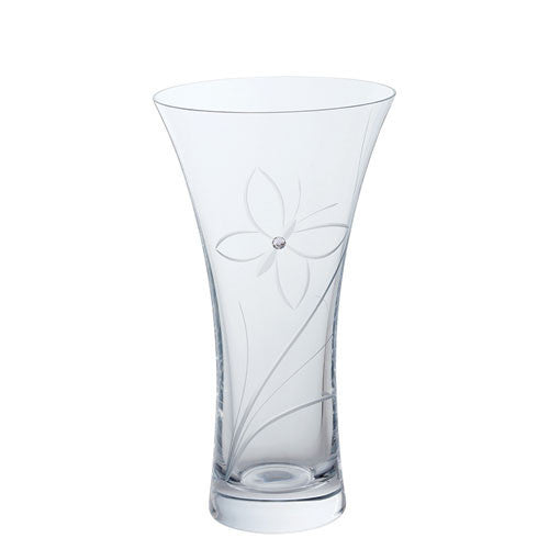 Dartington Crystal Glitz Medium Butterfly Vase 21.5cm