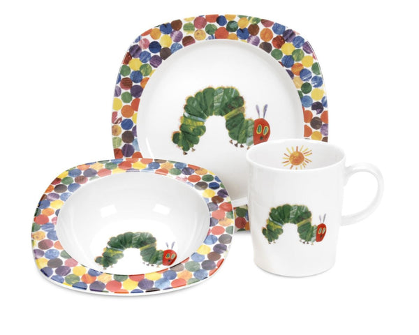 Portmeirion The Very Hungry Caterpillar 3 Piece Set
