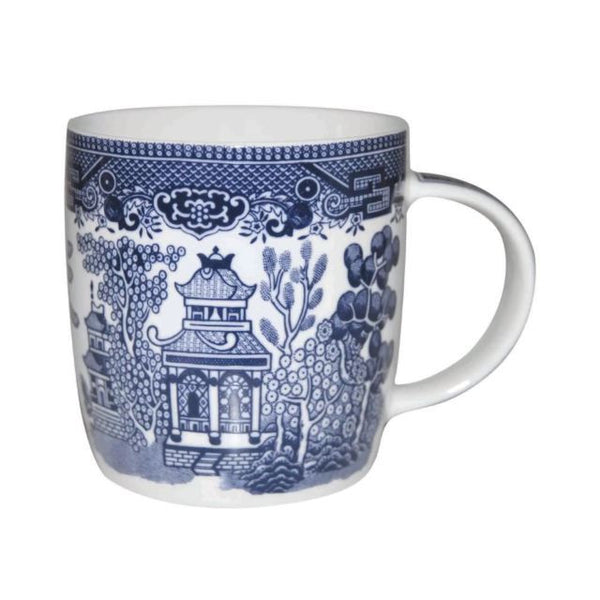 Churchill China Blue Willow Mug 0.34L