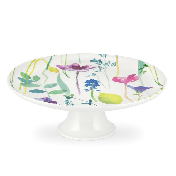 Portmeirion Water Garden Cake Stand 25cm by 8.5cm