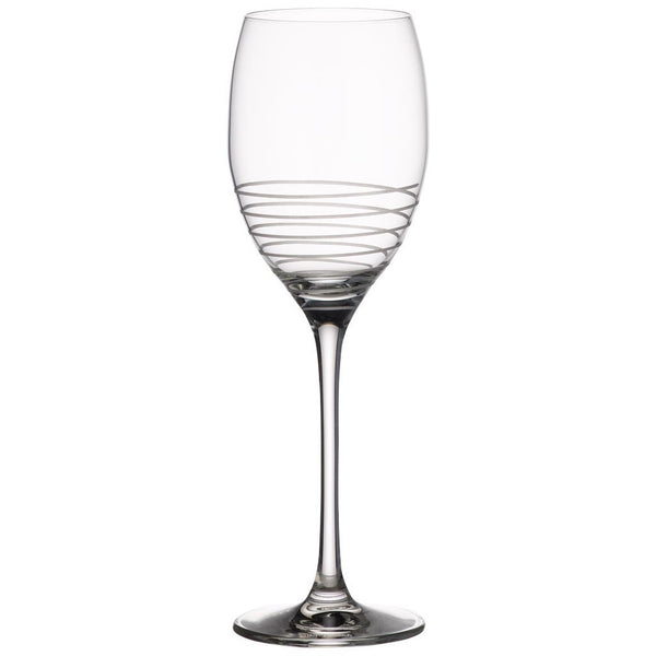 Villeroy and Boch Maxima Decorated Spiral Glass White Wine Glass 240mm