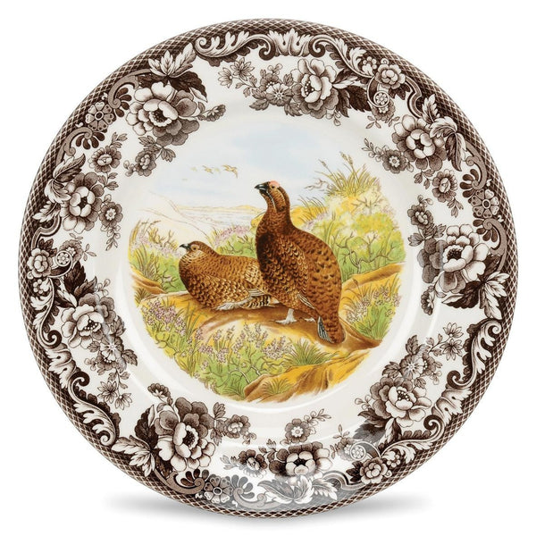 Spode Woodlands Red Grouse Dinner Plate 27cm