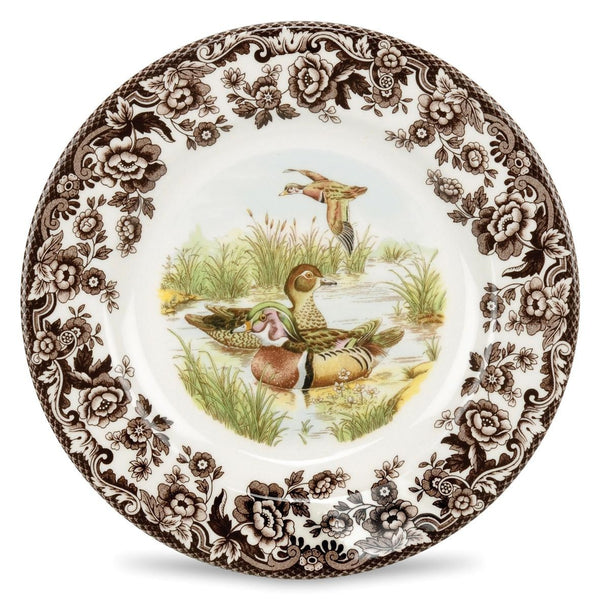 Spode Woodlands Wood Duck Dinner Plate 27cm