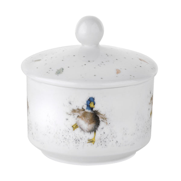 Royal Worcester Wrendale Designs Sugar Bowl 0.30L