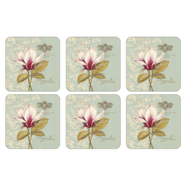 Pimpernel Vintage Toile Coasters 10.5cm By 10.5cm (Set Of 6)