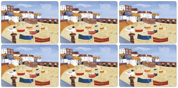 Pimpernel St Ives Windbreak Placemats 30.5cm By 23cm (Set Of 6)