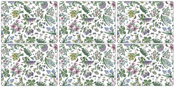Portmeirion Botanic Garden Chintz Placemats 30.5cm by 23cm (Set of 6)