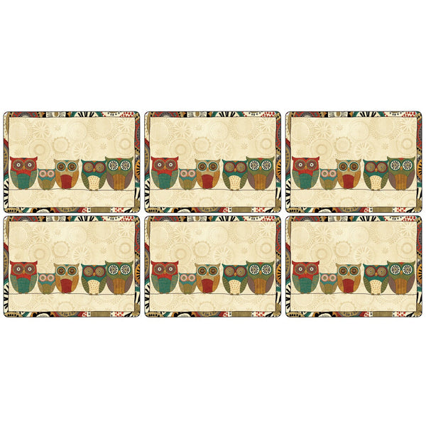 Pimpernel Spice Road Placemats 30.5cm By 23cm (Set Of 6)