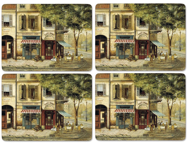 Pimpernel Parisian Scenes Placemats 40.1cm By 29.8cm (Set Of 4)