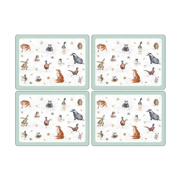 Royal Worcester Wrendale Designs Placemats 40.1cm by 29.8cm (Set of 4)