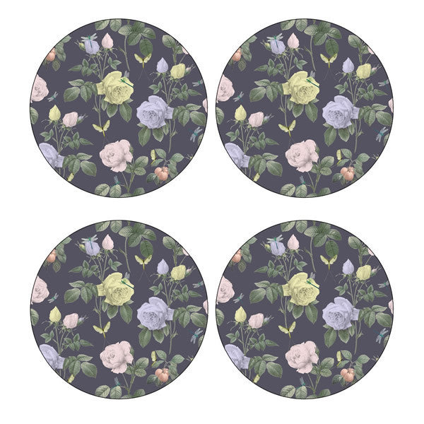 Portmeirion Ted Baker Rosie Lee Round Floral Placemats 31cm (Set of 4)