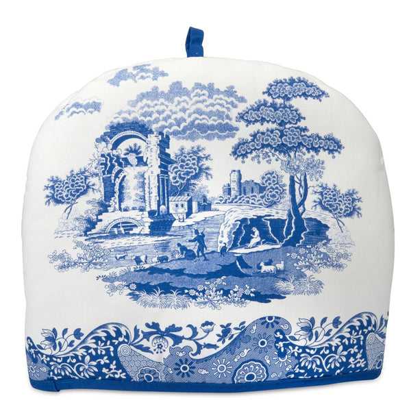 Spode Blue Italian Tea Cosy 36cm by 27cm