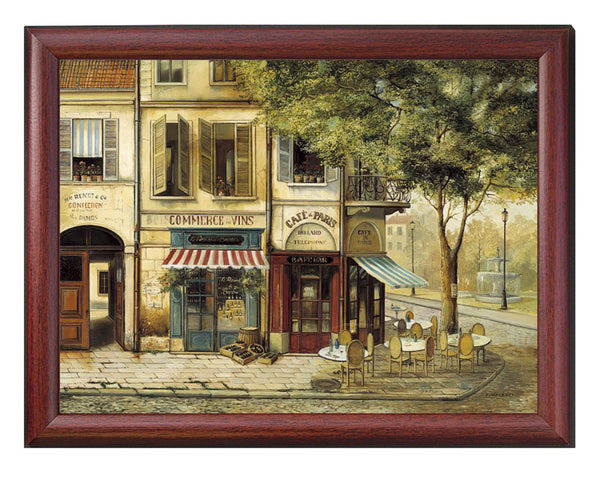 Pimpernel Parisian Scenes Lap Tray 44 By 34cm