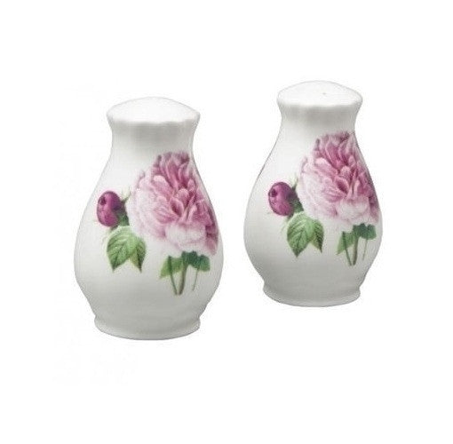 Roy Kirkham Redoute Rose Salt and Pepper Shakers