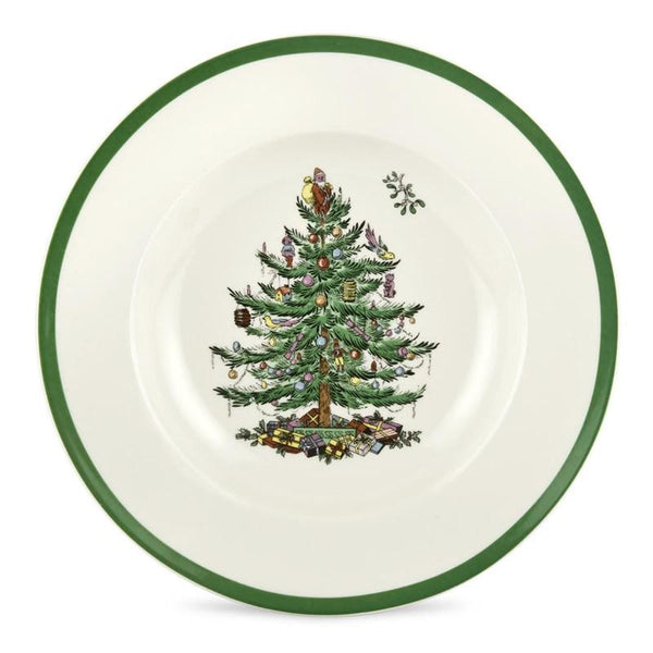 Spode Christmas Tree Soup Plate 23cm - Set of 4
