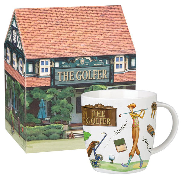 Churchill China At Your Leisure Golfer Mug 0.39L