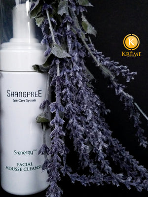 SHANGPREE S.ENERGY FACIAL MOUSSE CLEANSER