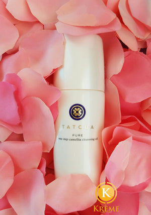 KRÈME DE LA KRÈME : TATCHA PURE ONE STEP  CAMELLIA CLEANSING OIL