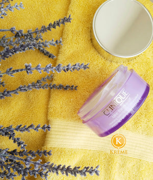 TAKE YOUR DAY OFF WITH CLINIQUE CLEANSING BALM;NOT MAKEUP WIPES.