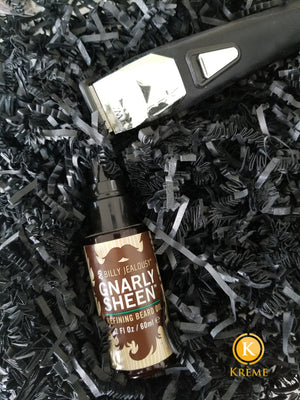 MEN'S SKINCARE: BILLY JEALOUSY GNARLY SHEEN REFINING BEARD OIL