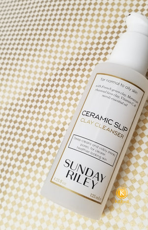 KRÈME DE LA KRÈME: SUNDAY RILEY CERAMIC SLIP CLAY CLEANSER