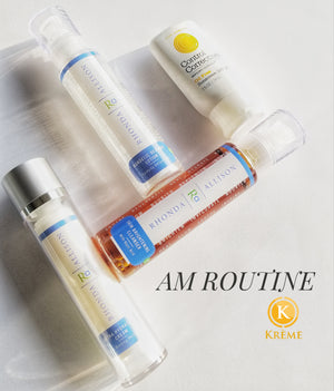 CURRENT SKINCARE ROUTINE OCTOBER 2018