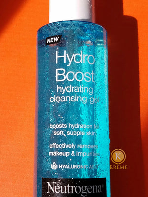 HYDRO BOOST HYDRATING CLEANSING GEL BY NEUTROGENA