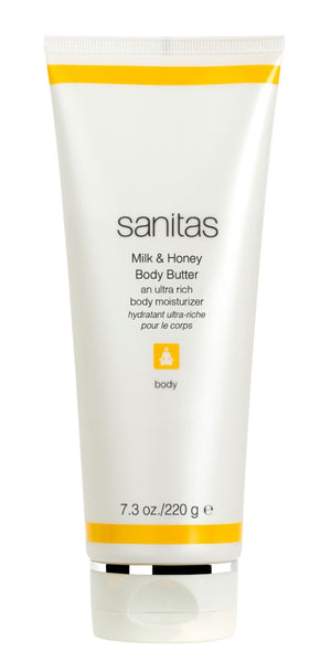 Sanitas Milk & Honey Body Butter(an ultra rich body moisturizer)