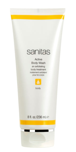Sanitas Active Body Wash (an exfoliating body treatment)
