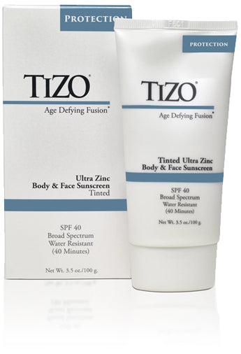 Tizo Ultra Zinc Body &Face Sunscreen (tinted)