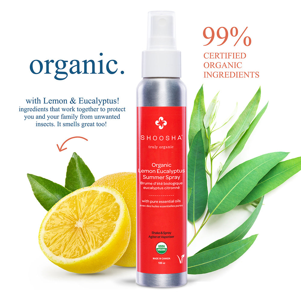 Organic Lemon Eucalyptus Summer Spray