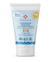 Pure Mineral Sunscreen is a product of Shoosha - the first complete USDA certified skin care line in North America. All Shoosha baby products carry the USDA seal because we believe that pure, truly organic products are best for baby and you. Our pure and nourishing ingredients are trusted by parents and recommended by doctors.