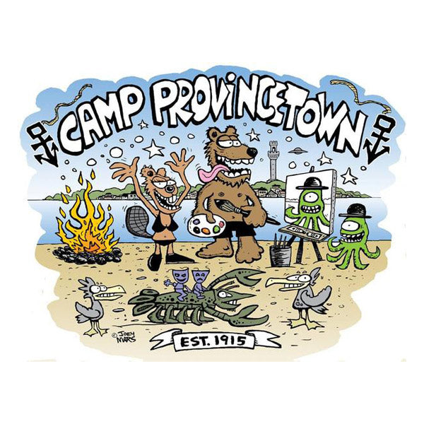 Camp Provincetown T-Shirt: Joey Mars Design