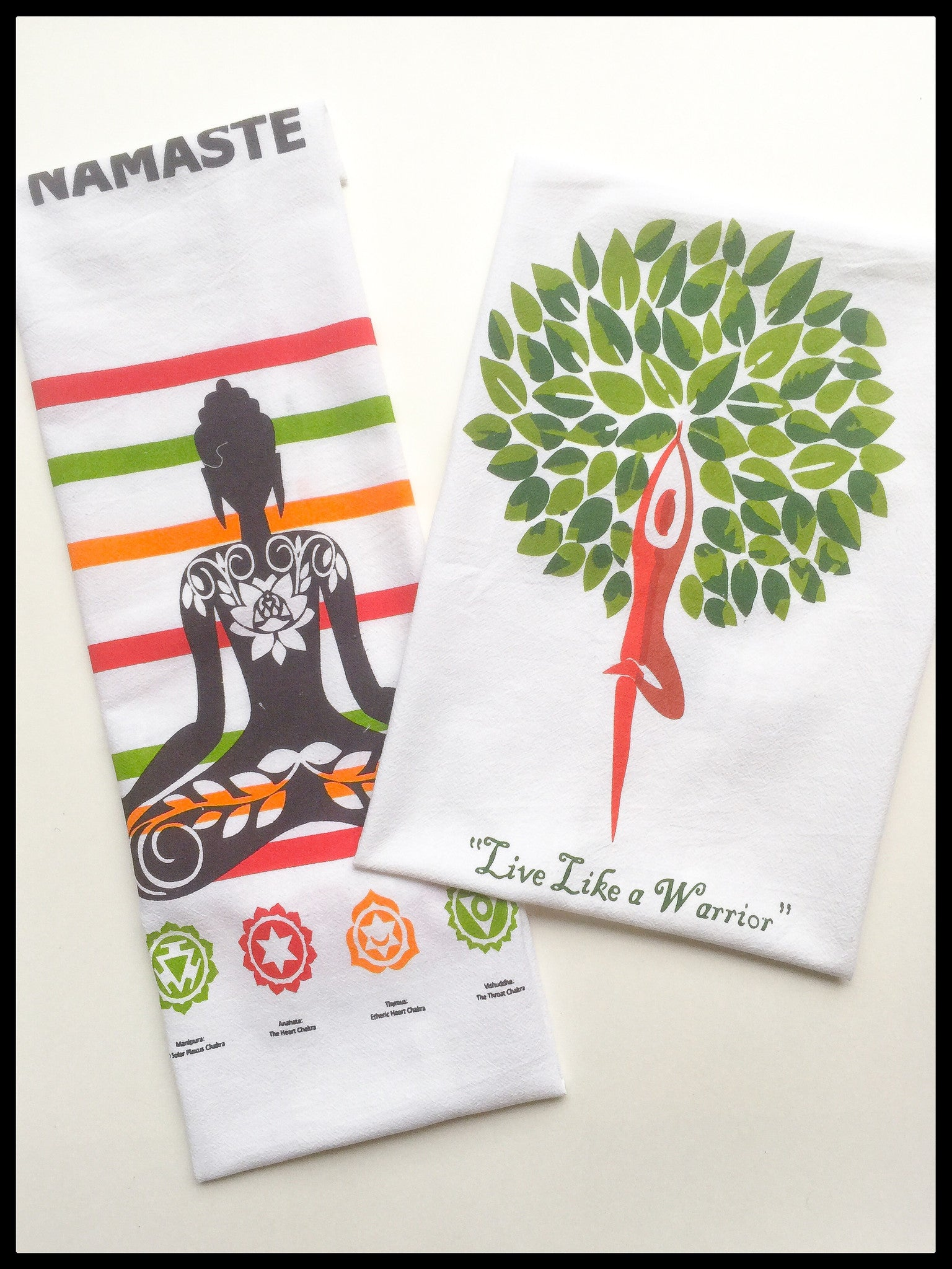 Yoga Inspired Towels