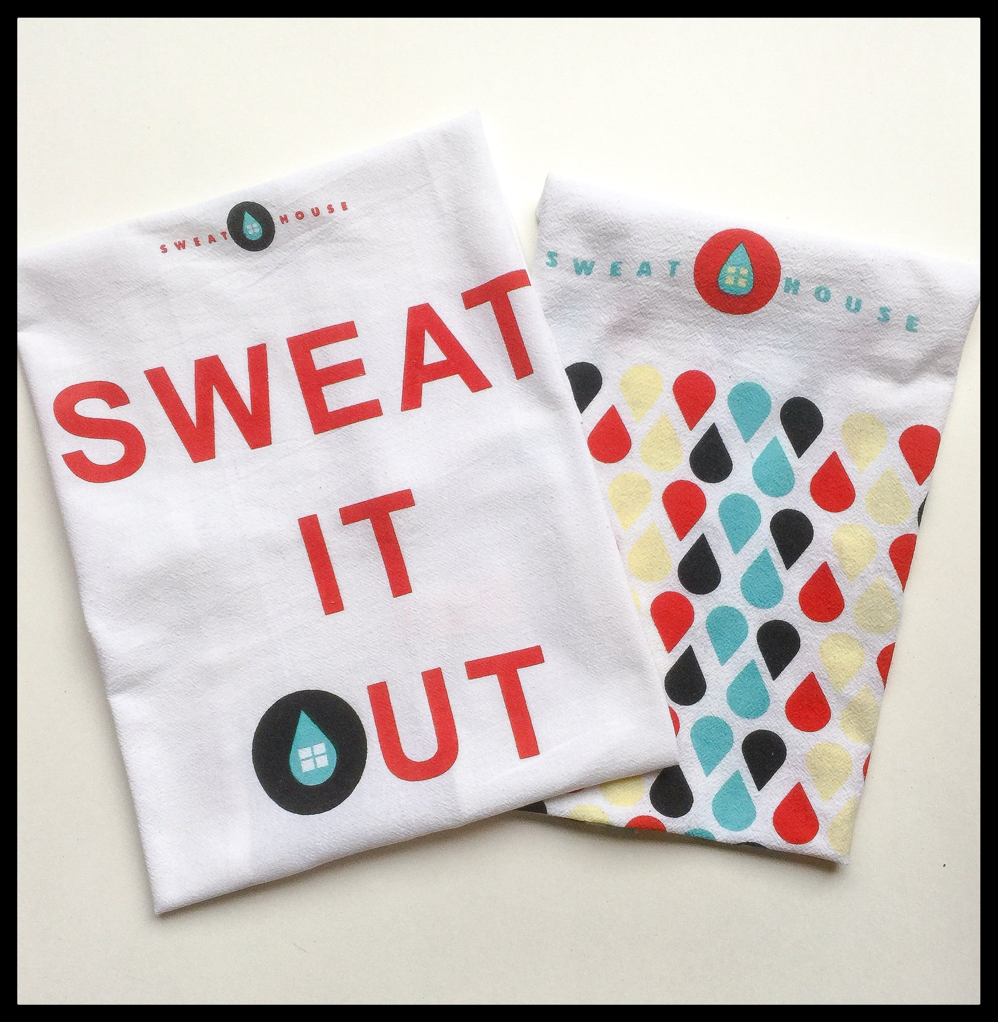 Studio 10 sets of Sweathouse Hot Yoga Towels