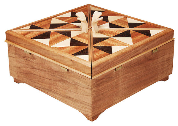 Pinwheel Jewelry Box II
