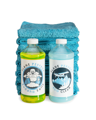 Spring Clean Up Kit - Buddha Belly, EcoClean and Microfiber towels!