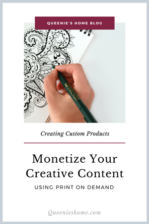 How to Prepare Your Creative Content to be Monetized on Digitally Printed Products