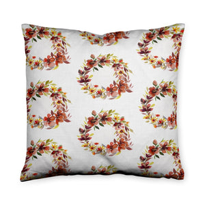 Kirsty Wreath Fall Throw Pillow