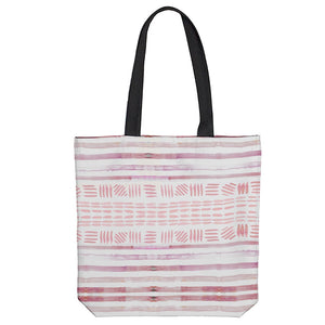 Sunset Stripe Tote Bag