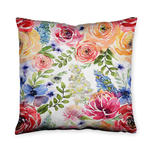 Camilla Flora Throw Pillow