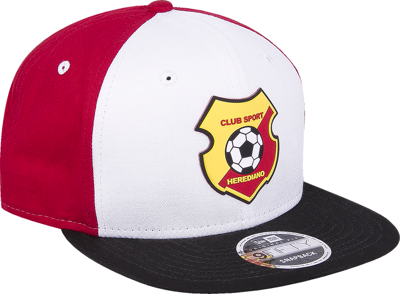 New Era 9 Fifty Herediano frente blanco visera negra snapback - ClubHouse  Costa Rica 74d33b87a84