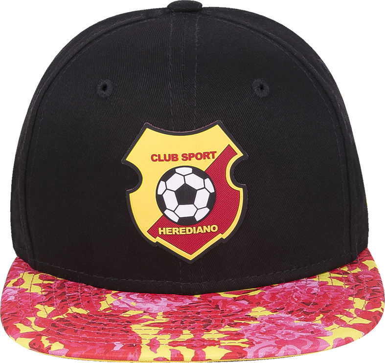 New Era 9 Fifty Herediano negra visera plana floral snapback - ClubHouse  Costa Rica 926de8b874d